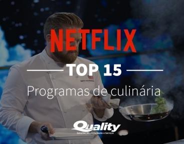 TOP 15 programas de culinária