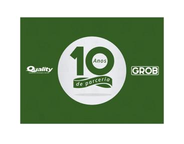 Aniversário de Parceria - 10 Anos Grob