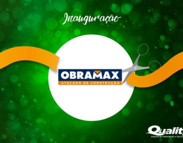 Inauguração Obramax!
